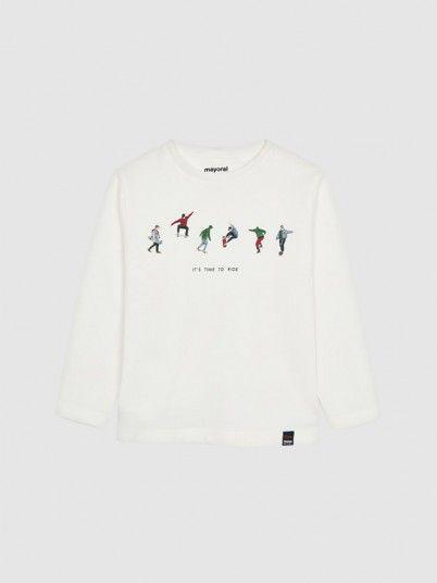 Sweatshirt Boy Cream Mayoral