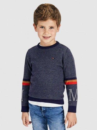 Knitwear Boy Navy Blue Mayoral