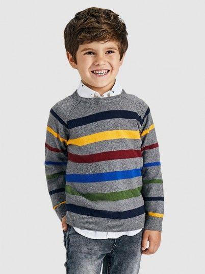 Knitwear Boy Grey Mayoral