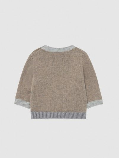 Knitwear Baby Boy Brown Mayoral