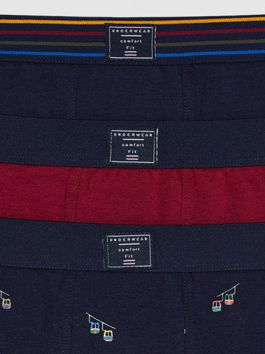 Underpants Boy Navy Blue Mayoral