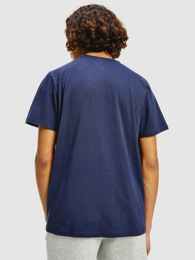 T-Shirt Homem Corp Tommy Jeans