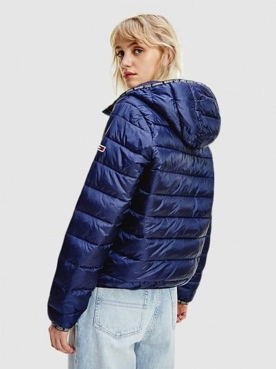 Kispo Mulher Quilted Tape Tommy Jeans