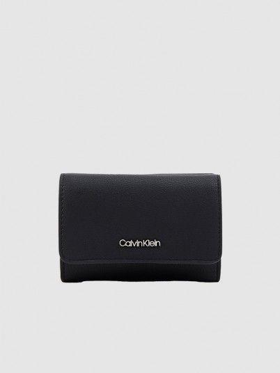 Carteira Mulher Must Trifold Calvin Klein