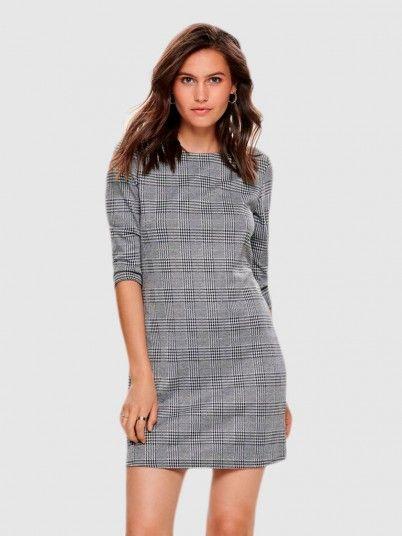 Dress Woman Grey Only