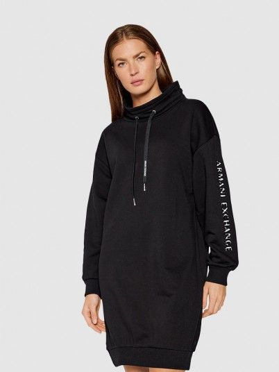 Dress Woman Black Armani Exchange