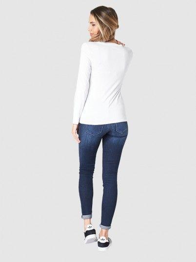 Sweatshirt Woman White Armani Exchange