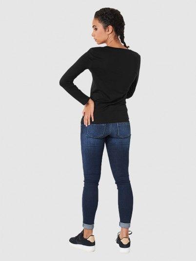 Sweatshirt Woman Black Armani Exchange