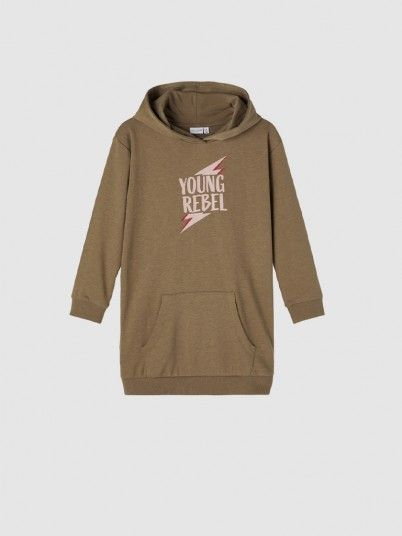 Sweatshirt Menina Boxy Tunic Name It