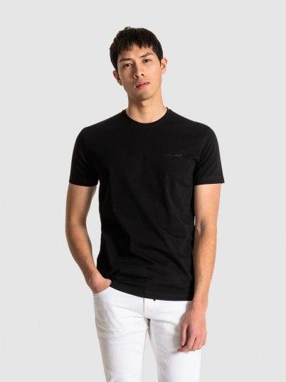 T-Shirt Homem Round Antony Morato