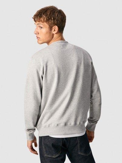 Sweatshirt Man Grey Pepe Jeans London