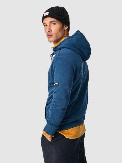Sweatshirt Man Navy Blue Pepe Jeans London