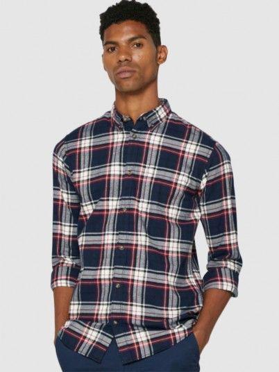 Shirt Man Bordeaux Jack & Jones