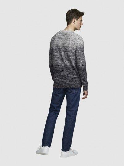 Knitwear Man Blue Jack & Jones