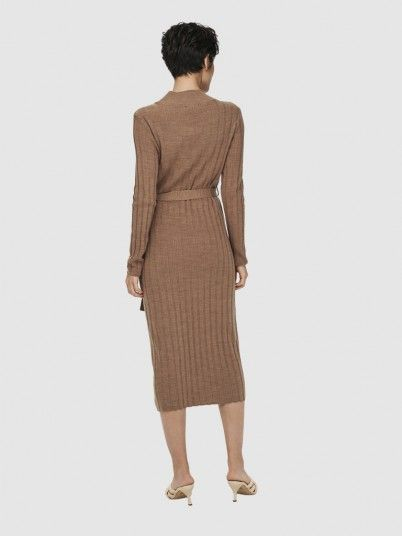 Dress Woman Camel Only