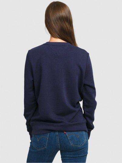 Sweatshirt Mulher Reg Essential Tommy Jeans
