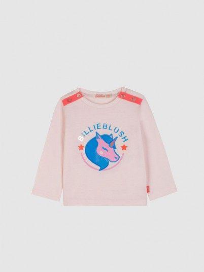 Sweatshirt Menina Billie Blush