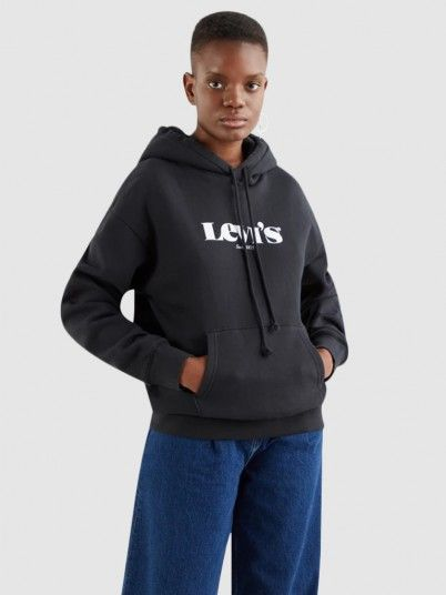 Sweatshirt Mulher Standard Graphic Levis