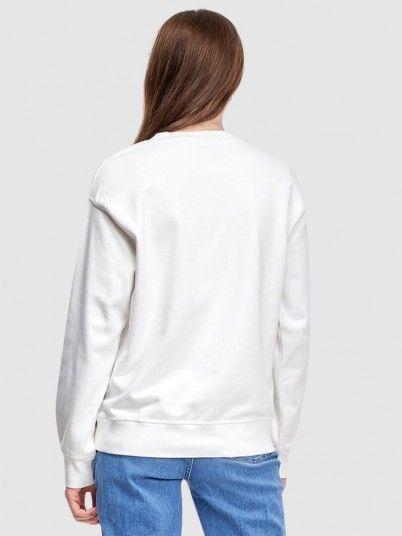Sweatshirt Mulher Graphic Standard Levis