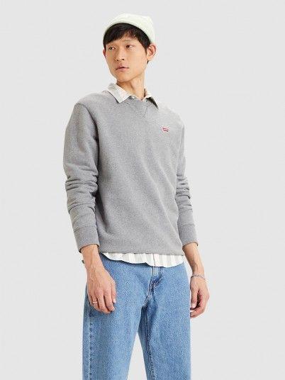 Sweatshirt Man Grey Levis