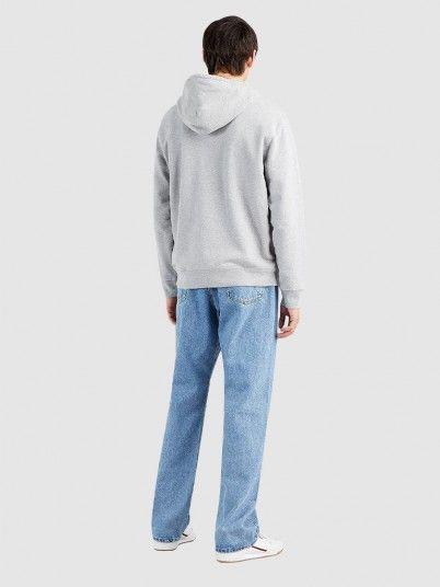 Sweatshirt Homem Standard Graphic Levis
