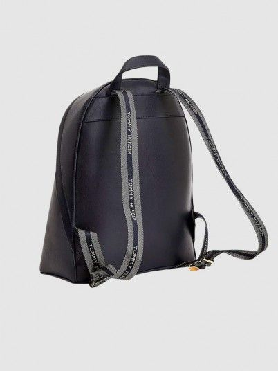 Backpack Woman Navy Blue Tommy Jeans