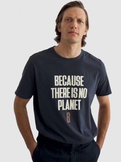 T-Shirt Homem Minot Ecoalf