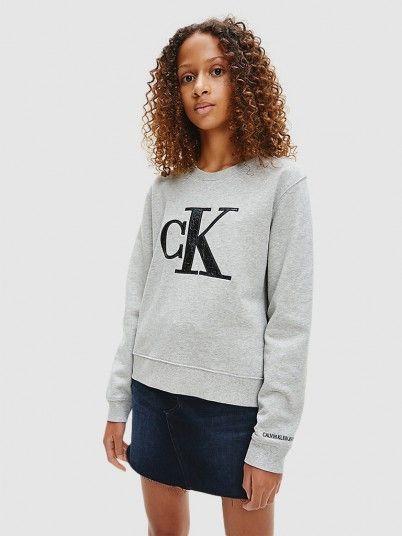 Sweatshirt Menina Provocative Calvin Klein