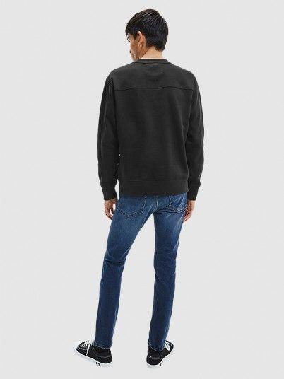 Sweatshirt Man Black Calvin Klein