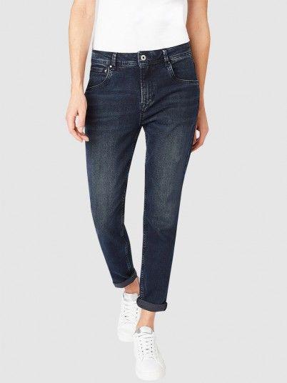 Jeans Woman Dark Jeans Pepe Jeans London