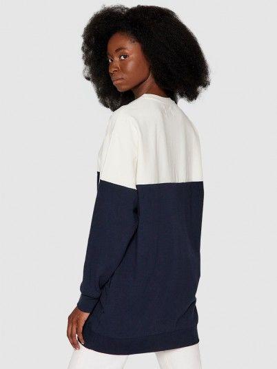 Dress Woman Navy Blue Pepe Jeans London