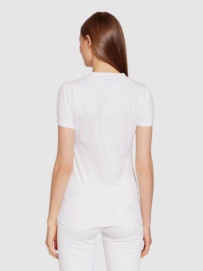 T-Shirt Woman White Guess
