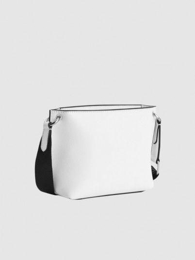 Handbag Woman White Calvin Klein
