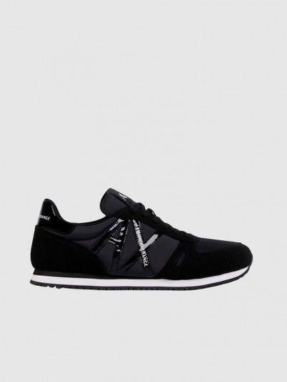 Sneakers Woman Black Armani Exchange