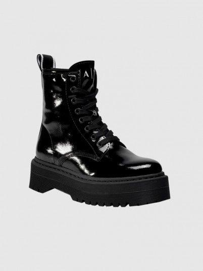 Boots Woman Black Armani Exchange
