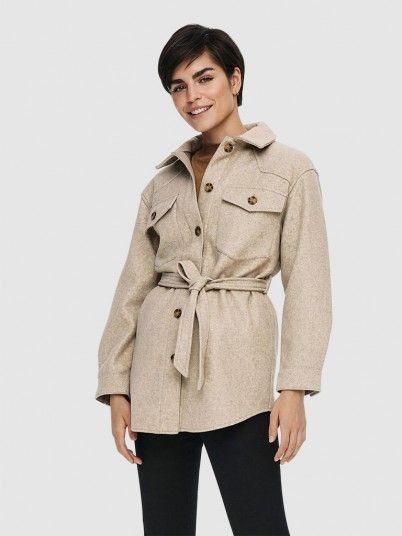 Jacket Woman Beige Only