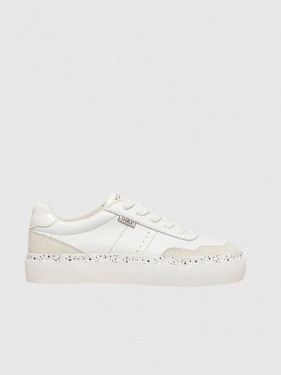 Sneakers Woman White Only