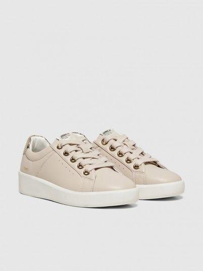 Sneakers Woman Beige Only