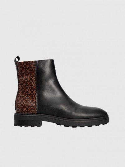 Botas Mulher Cleat Ankle Calvin Klein