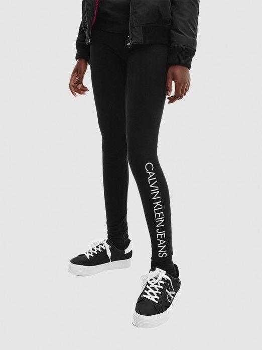 Legging Menina Logo Calvin Klein