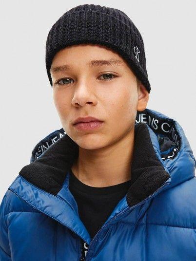 Beanie Boy Black Calvin Klein