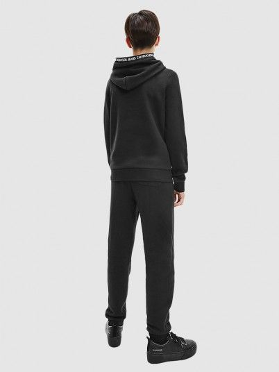 Sweatshirt Menino Intarsia Calvin Klein