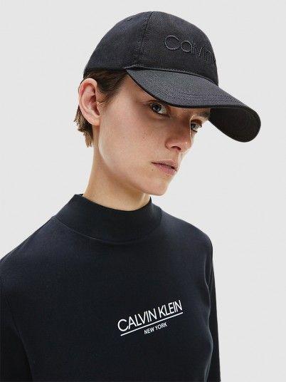 Hat Woman Black Calvin Klein