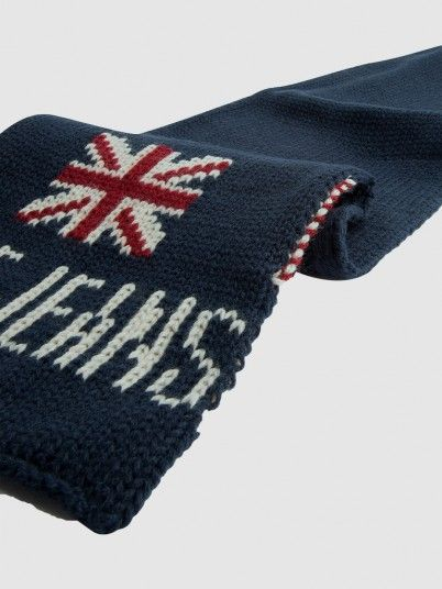 Scarf Boy Navy Blue Pepe Jeans London