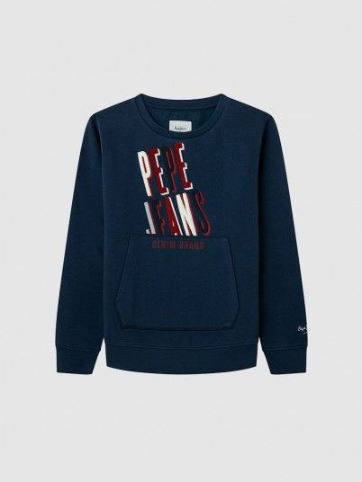Sweatshirt Menino Jeremy Pepe Jeans