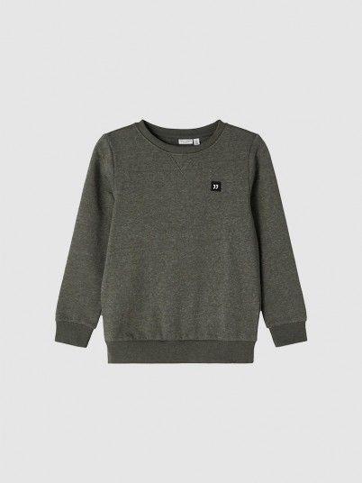 Sweatshirt Boy Dark Green Name It