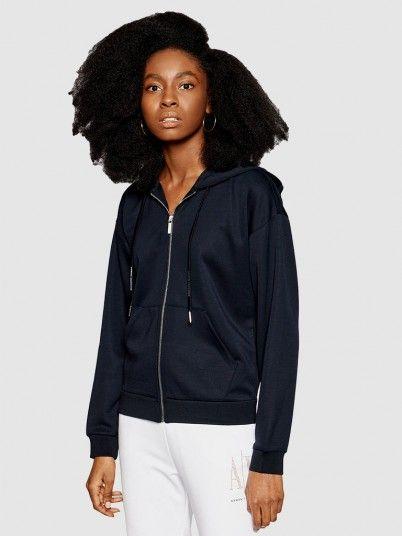 Jacket Woman Navy Blue Armani Exchange