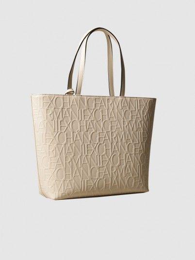 Handbag Woman Beige Armani Exchange