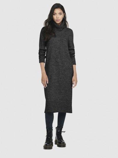 Dress Woman Dark Grey Only