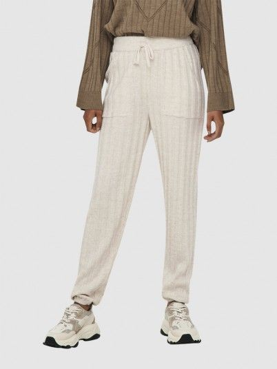 Pants Woman Cream Only